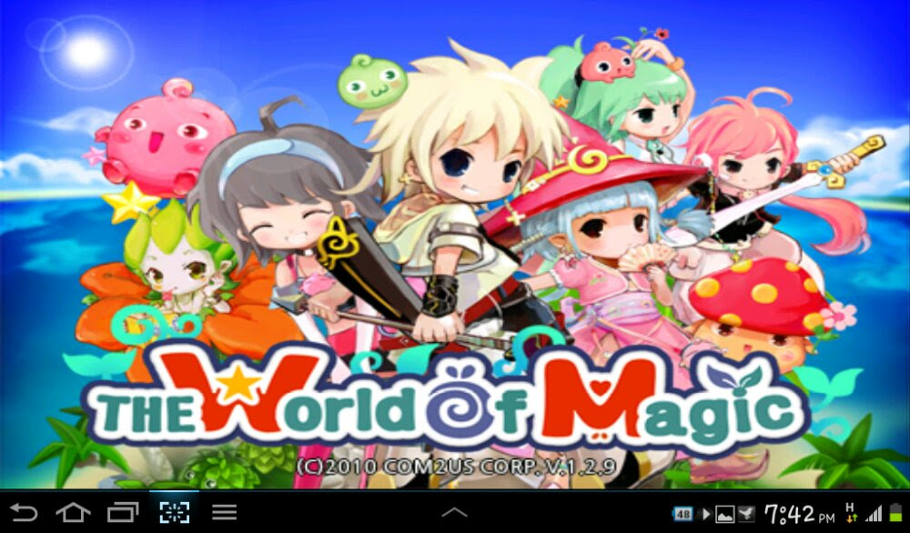 Game MMORPG The World Of Magic di Android