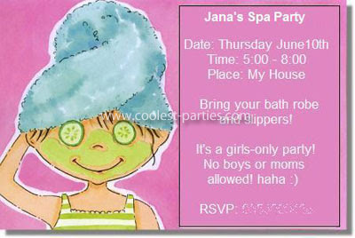 Year Birthday Party Ideas On Coolest Spa For A 7 Old Girl