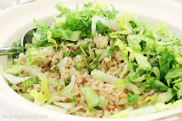 Fried Rice, Salted Fish, Crab Meat, Asparagus