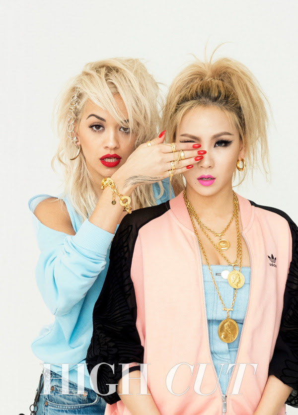 2NE1 CL and Rita Ora - High Cut Magazine Vol.136