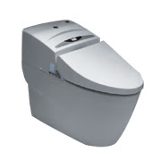 Auto-deodorizing massage toilet