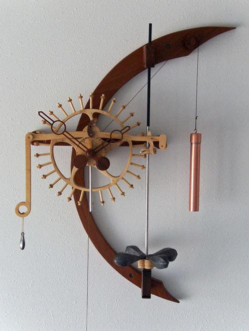 Free Wooden Gear Clock Plans