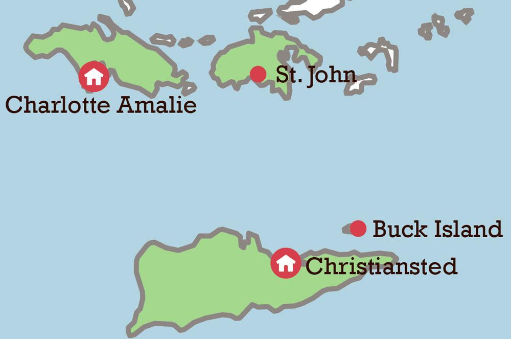 dansk vestindiske øer kort Vestindiske øEr Kort | Kort 2019