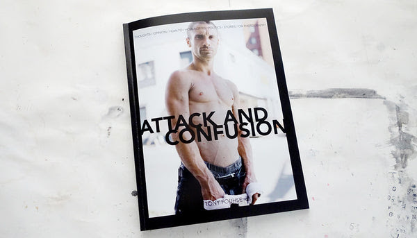 ATTACK AND CONFUSION / ASLEEP AND WAKING UP/ tony fouhse