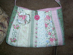 Rose Patchwork Bag