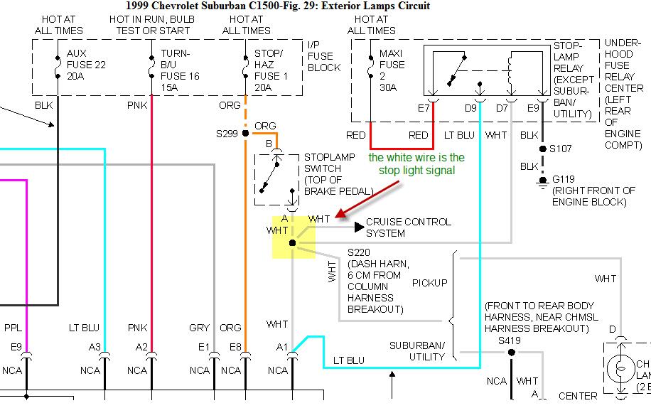 30 1999 Chevy Silverado Trailer Wiring Diagram