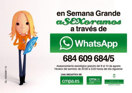 AseXora por WhatsApp Xixón