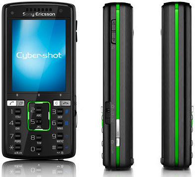Sony Ericsson K850i - Front and Sides