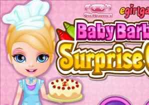 Bayi Barbie Cake Kejutan Permainan Memasak Permainan Gamecr