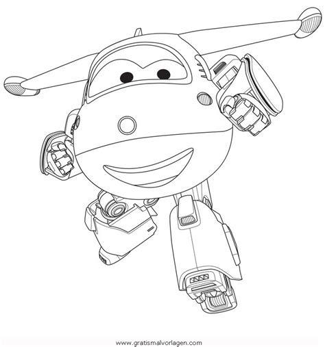 superwings jett gratis malvorlage  comic
