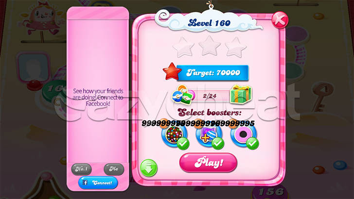 Candy Crush Saga Unlimited Boosters