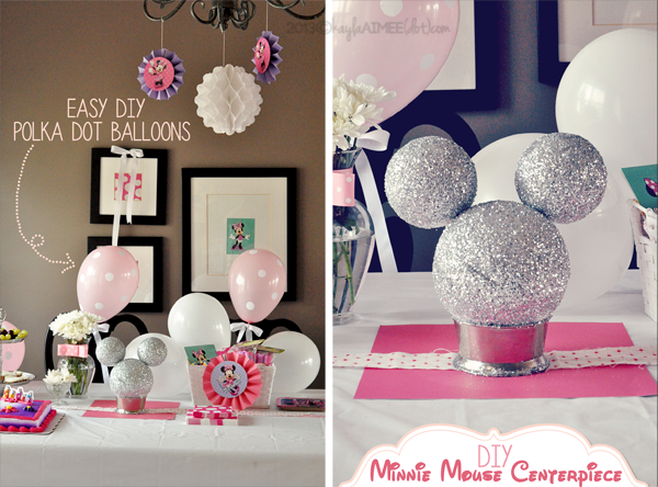 Our Semi Diy Minnie Mouse Celebration