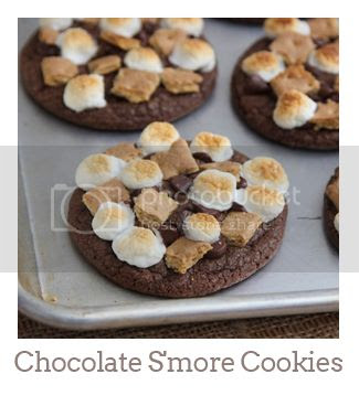 """""""Chocolate S'more Cookies"""""""