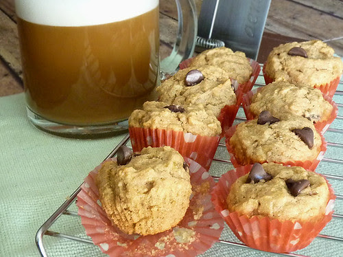 Katie's Peanut Butter Chocolate Chip Muffins