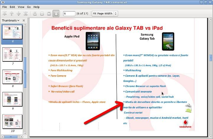 android @ vodafone