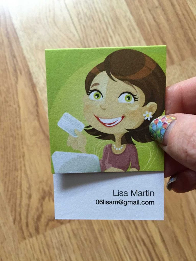 Make Your Business Card Stand Out by My Thoughts, Ideas, and Ramblings