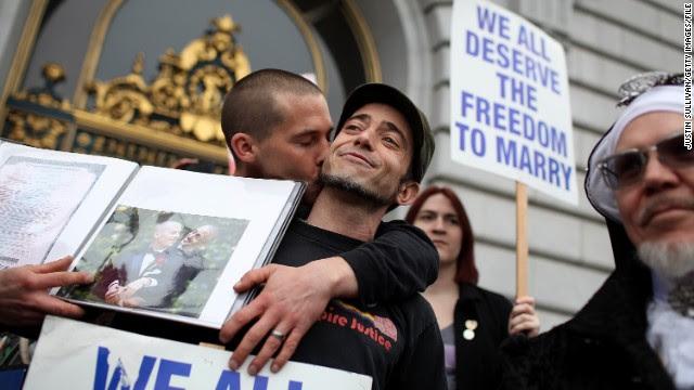 El matrimonio gay ante decisión histórica en la Corte Suprema de EE.UU.