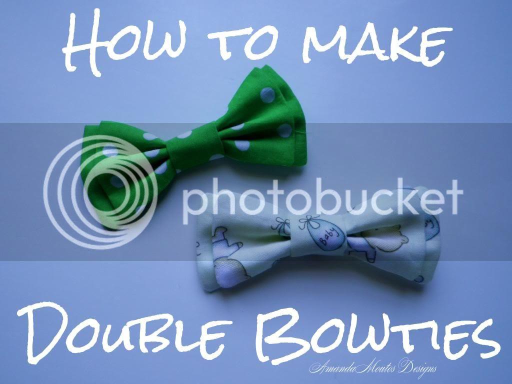 Double Bowtie Tutorial by Amanda Moutos Designs