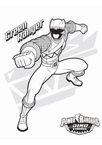 Coloriages Power Rangers Dinocharge à Imprimer Coloriages Dessins