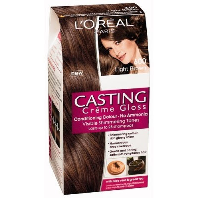Loreal Paris Casting Creme Gloss 600 Light Brown  Hair Color \u0026 Dye  Gomart.pk