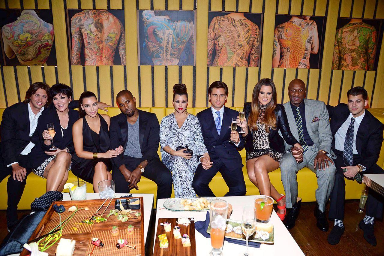 Kardashians, Kanye West, Kim Kardashian