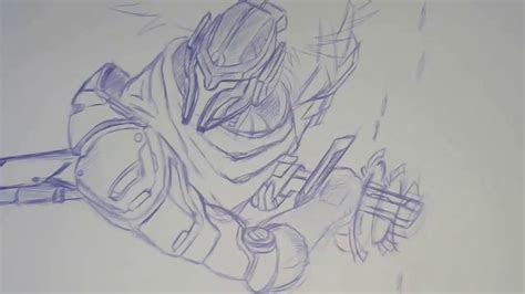 drawing project yasuo fan art  league  legends
