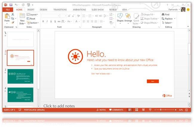 Microsoft Office 2013 Premium pode ser testado gratuitamente por 60 dias