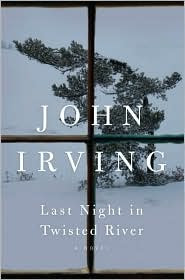 Last Night in Twisted River by John Irving book cover