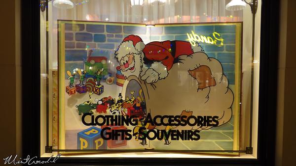 Disneyland Resort, Disney California Adventure, Christmas, Christmas Time, Buena Vista Street