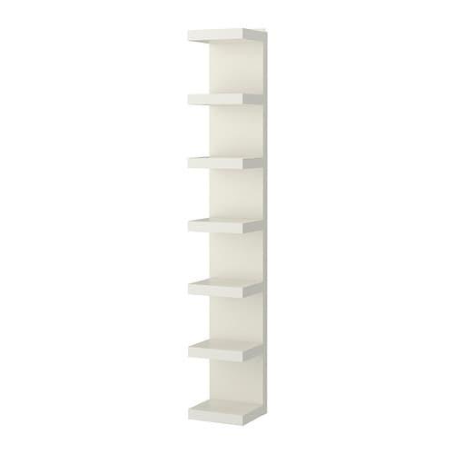 LACK Scaffale IKEA Con una libreria stretta sfrutti al meglio anche gli spazi piccoli.