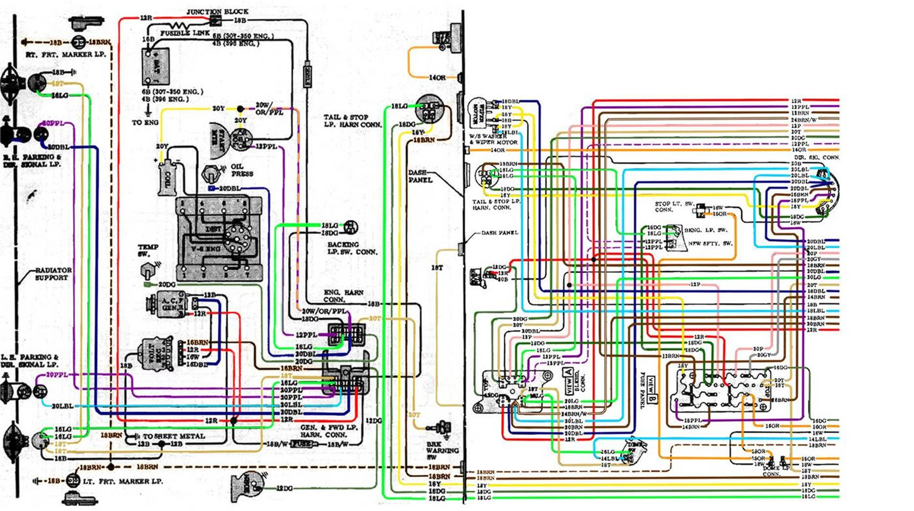 67 72 Chevy Wiring Diagram