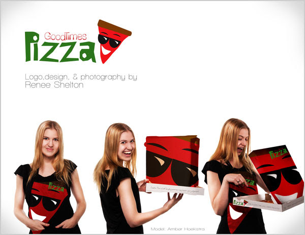 Good Times Pizza Design Idea 25+ Sour & Spicy Pizza Packaging Design Ideas