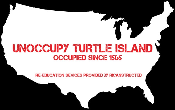 UNOCCUPY TURTLE ISLAND by vagabond ©