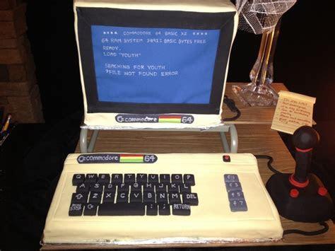Impressive Commodore 64 Birthday Cake [pic]   Global Geek News