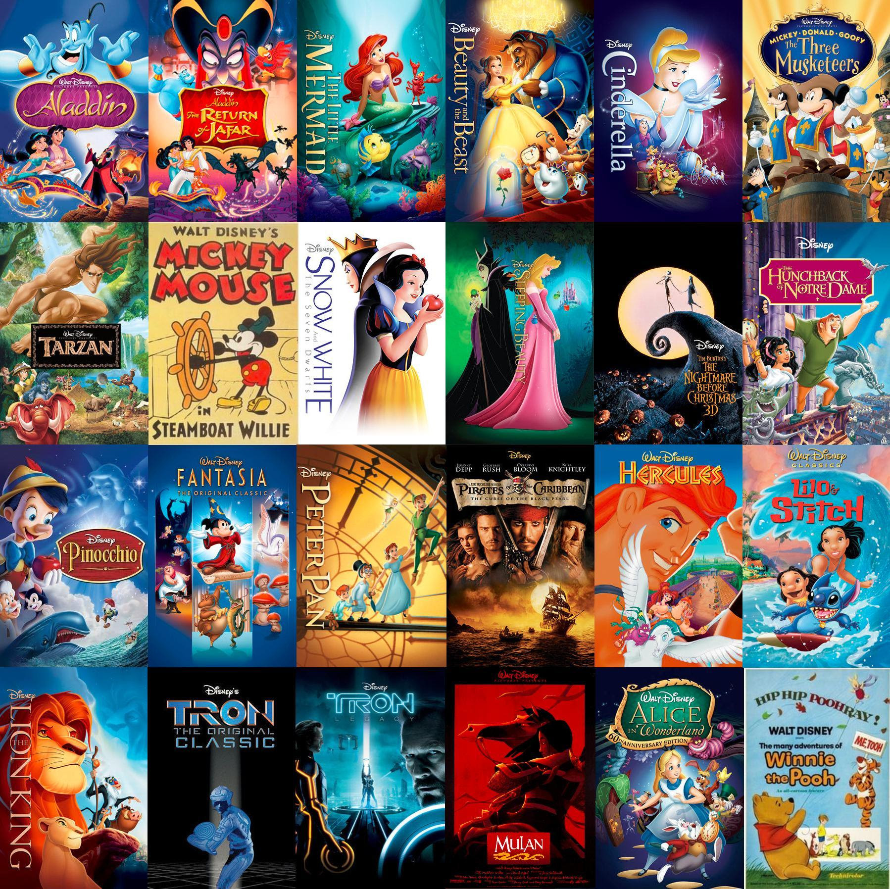 All Disney Movies That Have Been Covered In Kingdom Hearts ...