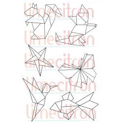 Étampe - Origami