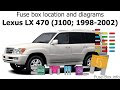 2002 Lexus Es 300 Fuse Box Diagram