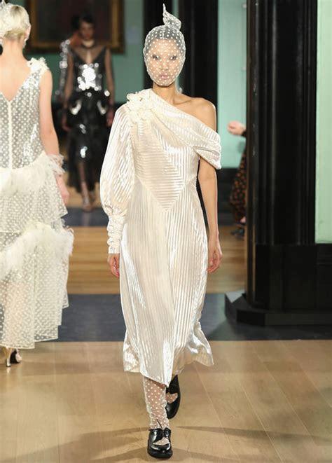 Meghan Markle news: Erdem shows white dresses at LFW   are