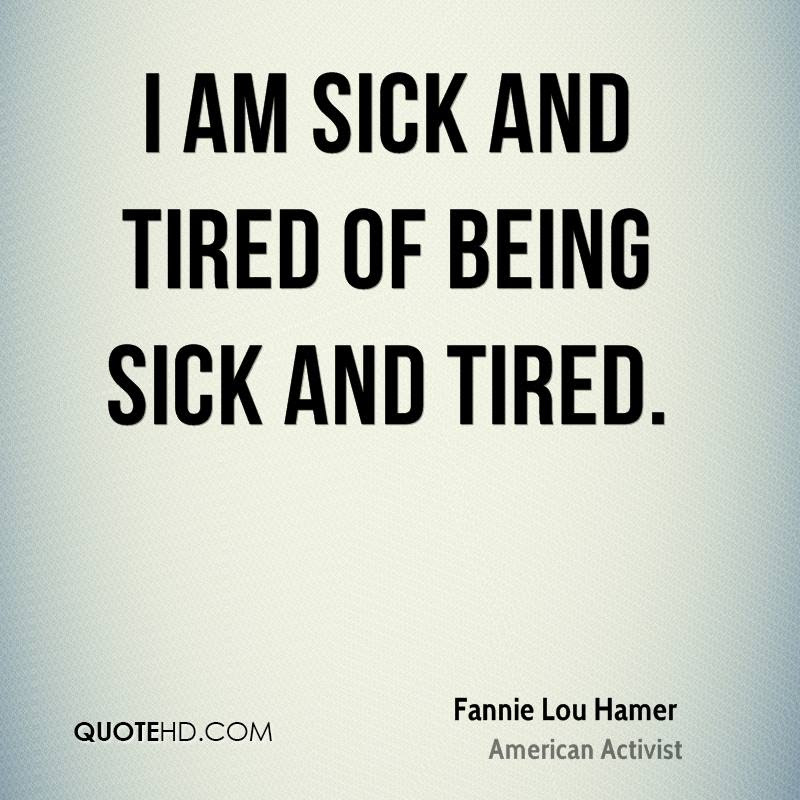Fannie Lou Hamer Quotes Quotehd