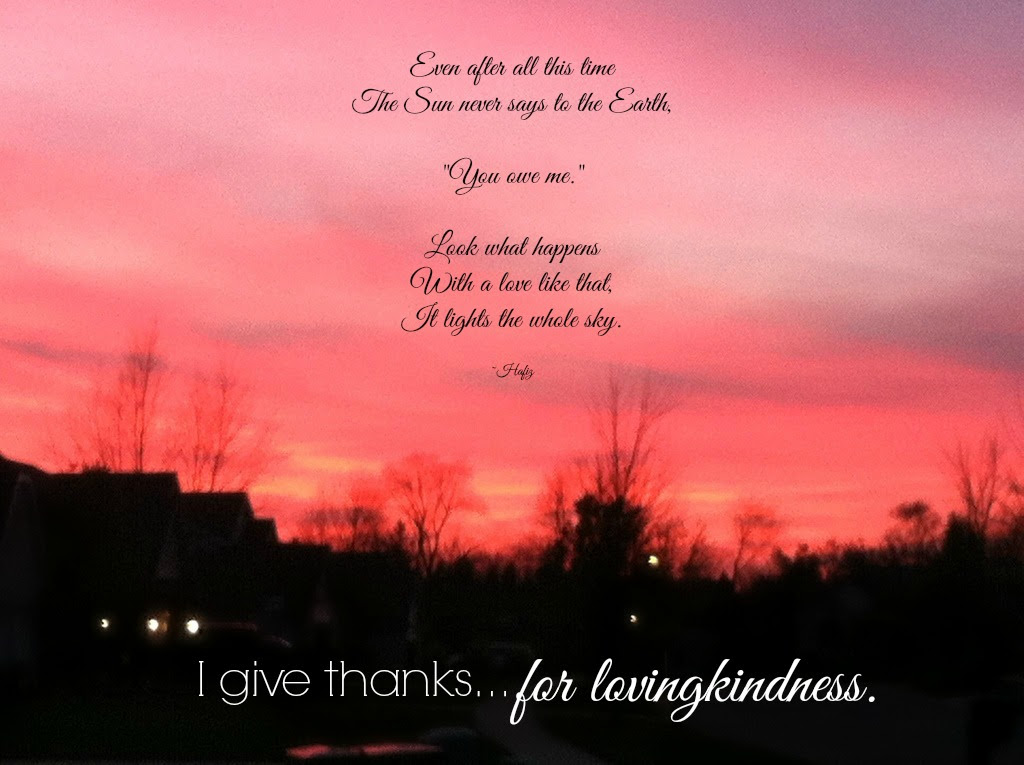 {gartitude} day 15...lovingkindness