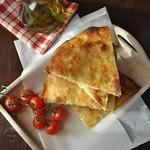 Focaccia with sourdough starter