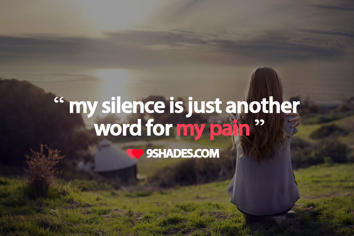 Quotes About Sad Silence 23 Quotes