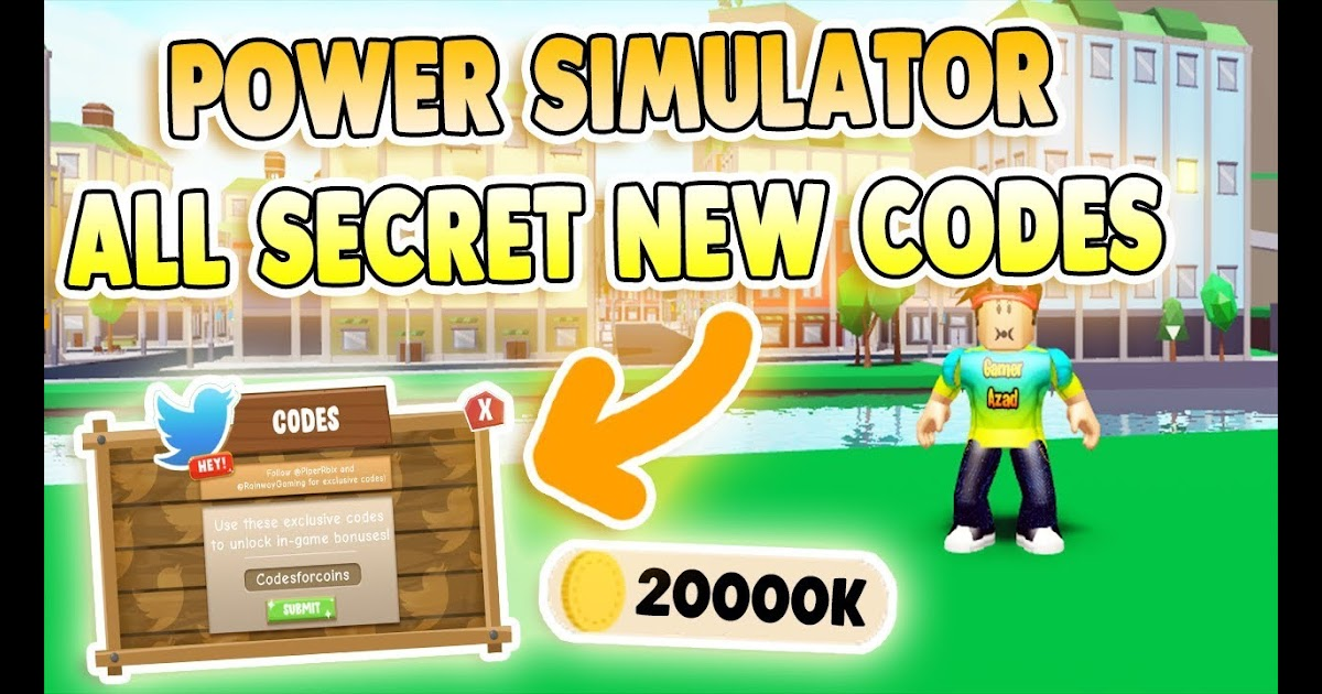 All Secret Power Simulator Atlantis Update Codes 2019 Power