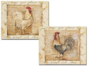 Rooster Kitchen Decor | eBay