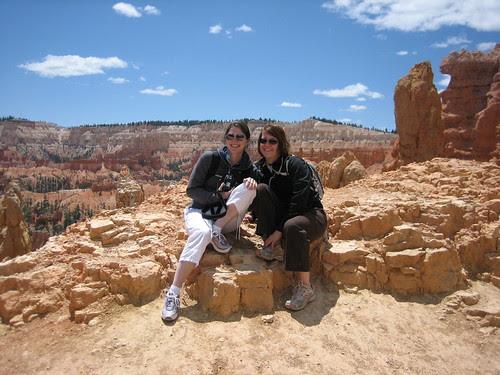 Rebecca and Jessica