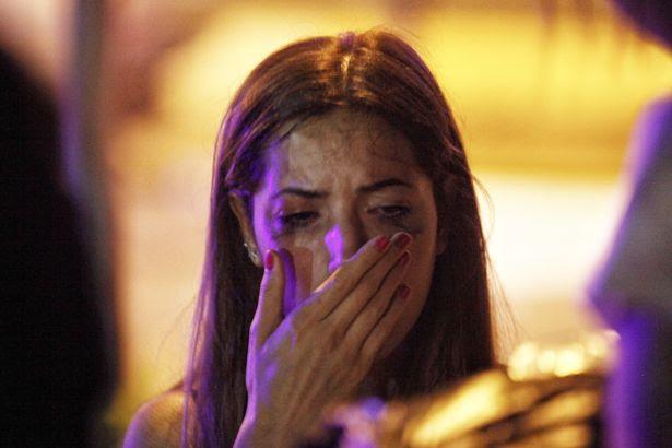 A relative of the Ataturk Airport suicide bomb attack victim waits outside Bakirkoy Sadi Konuk Hospital