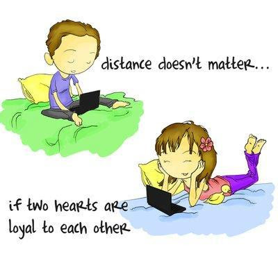 Distance Doesnt Matter Quote Picture