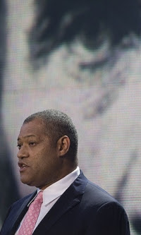 Membro Laurence Fishburne celebrity Illuminati