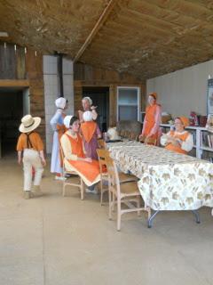 Women Fellowshipping Pre-Meal