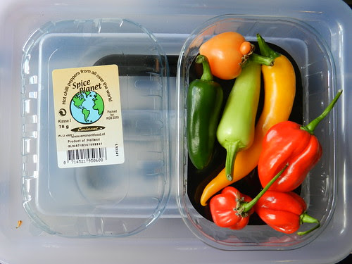 Cute chili peppers